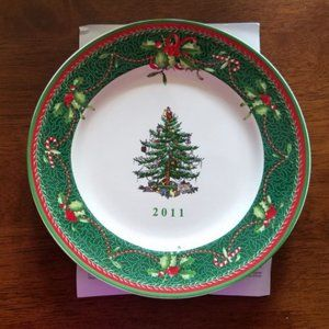 Spode Christmas Tree 2011 Plate